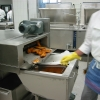 Frittier-Automat: Ausgabe